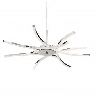 SEARCHLIGHT 3636-6CC | Bardot Searchlight függeszték lámpa rövidíthető vezeték 1x LED 3000K króm, fehér