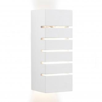 SEARCHLIGHT 4274 | GypsumS Searchlight fali lámpa festhető felület 1x E14 fehér