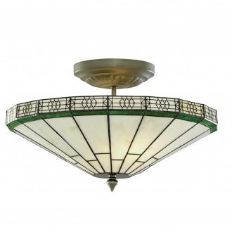 SEARCHLIGHT 4417-17 | New-York Searchlight mennyezeti lámpa 2x E14 bronz, borostyán