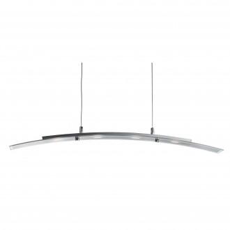 SEARCHLIGHT 5064-4SS | Bar-Lights Searchlight függeszték lámpa 1x LED 1620lm 3000K ezüst, átlátszó
