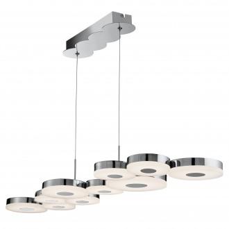 SEARCHLIGHT 60210-10CC | Chromia Searchlight függeszték lámpa 1x LED 1241lm 4000K króm, fehér