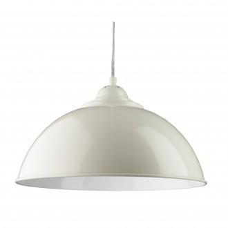 SEARCHLIGHT 8140CR | FusionS Searchlight függeszték lámpa 1x E27 metál fehér, fehér