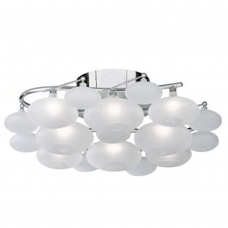 SEARCHLIGHT 8408-8CC | Dulcie Searchlight mennyezeti lámpa 8x G4 króm, savmart
