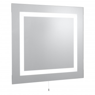 SEARCHLIGHT 8510 | MirrorS Searchlight fali lámpa húzókapcsoló 4x G5 / T5 1050lm 4000K IP44 tükör