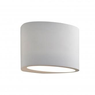 SEARCHLIGHT 8721 | GypsumS Searchlight fali lámpa festhető felület 1x G9 fehér