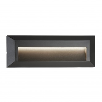 SEARCHLIGHT 8732GY | Ankle Searchlight beépíthető lámpa 1x LED 53lm 4000K IP65 sötétszürke, fehér
