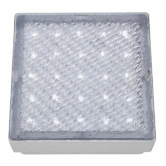 SEARCHLIGHT 9913WH | Walkover Searchlight beépíthető lámpa 150x150mm 1x LED 60lm 7000K IP68 átlátszó