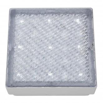 SEARCHLIGHT 9914WH | Walkover Searchlight beépíthető lámpa 80x80mm 1x LED 20lm 7000K IP68 átlátszó