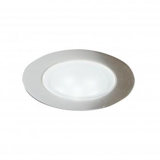 SEARCHLIGHT EU1160-10SS | Walkover-Kit Searchlight beépíthető lámpa 10 darabos szett Ø60mm 10x LED 900lm 3000K IP67 szatén ezüst, átlátszó