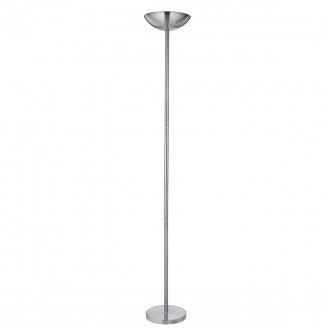 SEARCHLIGHT EU1230SS | Uplighters Searchlight álló lámpa 183cm fényerőszabályzós kapcsoló 1x R7s szatén ezüst
