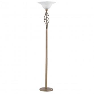 SEARCHLIGHT EU6021AB | Uplighters Searchlight álló lámpa 179cm kapcsoló 1x E27 antikolt réz, savmart