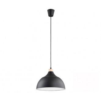 TK LIGHTING 2071 | Cap-TK Tk Lighting függeszték lámpa 1x E27 fekete, fehér