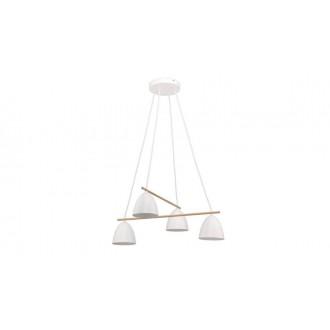 TK LIGHTING 2388 | Aida-TK Tk Lighting függeszték lámpa 4x E27 fehér