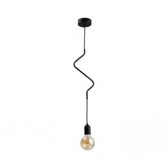 TK LIGHTING 2439 | Zigzag-TK Tk Lighting függeszték lámpa 1x E27 fekete