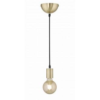 TRIO 310100108   Cord Trio függeszték lámpa 1x E27 mattított arany, fekete