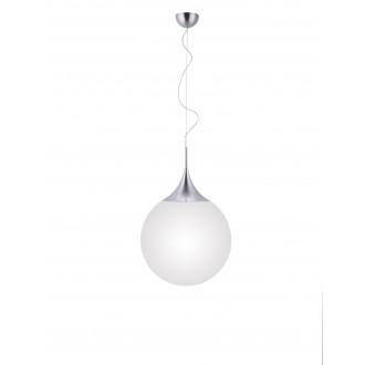 TRIO 351690107   Damian-TR Trio függeszték lámpa távirányító szabályozható fényerő, színváltós 1x E27 806lm 2200 <-> 6500K matt nikkel, fehér