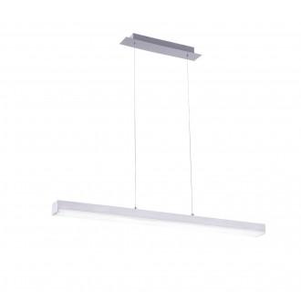 TRIO 358210107   Livaro Trio függeszték lámpa távirányító szabályozható fényerő, színváltós 1x LED 2000lm 3000 <-> 5000K matt nikkel