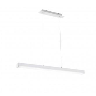 TRIO 358210131   Livaro Trio függeszték lámpa távirányító szabályozható fényerő, színváltós 1x LED 2000lm 3000 <-> 5000K matt fehér