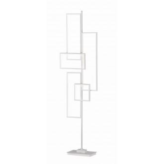TRIO 472610531   Tucson-TR Trio álló lámpa 160cm taposókapcsoló szabályozható fényerő 1x LED 3750lm 3000K matt fehér