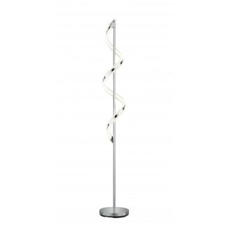 TRIO 472910106   Sydney-TR Trio álló lámpa 162cm fényerőszabályzós kapcsoló szabályozható fényerő 1x LED 1800lm 3000K króm