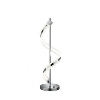 TRIO 572910106   Sydney-TR Trio asztali lámpa 63cm fényerőszabályzós kapcsoló szabályozható fényerő 1x LED 1300lm 3000K króm