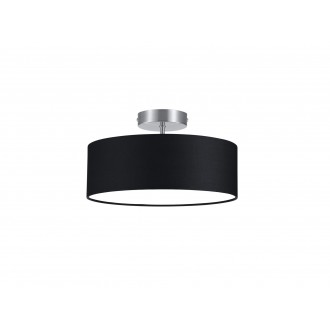TRIO 603900202   Hotel-TR Trio mennyezeti lámpa 2x E14 matt nikkel, fekete