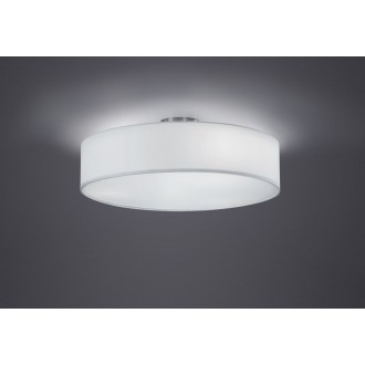 TRIO 603900301   Hotel-TR Trio mennyezeti lámpa 3x E27 matt nikkel, fehér