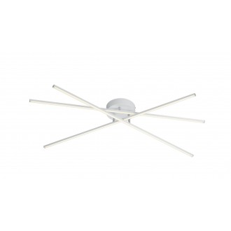 TRIO 671610331   Tiriac-TR Trio mennyezeti lámpa elforgatható alkatrészek, szabályozható fényerő 3x LED 2850lm 3000K matt fehér