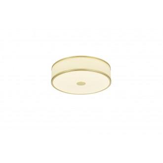 TRIO 678010108   Agento Trio mennyezeti lámpa szabályozható fényerő 1x LED 2100lm 3000K mattított arany, piszkosfehér