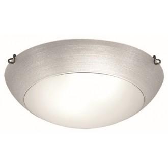 VIOKEF 3056501 | Marcela Viokef mennyezeti lámpa 2x E27 ezüst, matt fehér, antik
