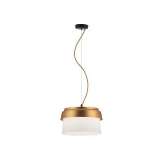 VIOKEF 3095700 | Morgan-VI Viokef függeszték lámpa 1x E27 fehér, arany, fekete