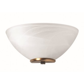 VIOKEF 330204 | Electra-VI Viokef fali lámpa 1x E14 fehér, antik, alabástrom