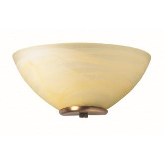 VIOKEF 330205 | Electra-VI Viokef fali lámpa 1x E14 alabástrom, antik, alabástrom