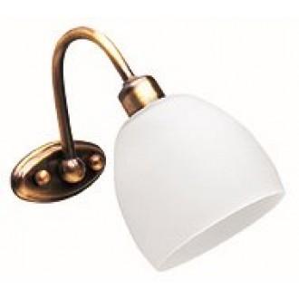 VIOKEF 351400 | Niobe Viokef falikar lámpa 1x E14 matt fehér, antik