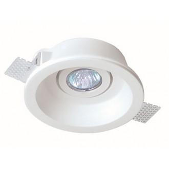 VIOKEF 4081000 | Jack-VI Viokef beépíthető lámpa festhető Ø155mm 1x MR16 / GU5.3 / GU10 fehér