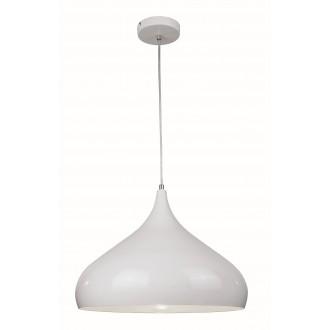 VIOKEF 4117701 | Convex Viokef függeszték lámpa 1x E27 fehér