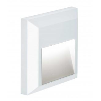 VIOKEF 4137801 | Leros-Plus Viokef fali lámpa 1x LED 112lm 3000K IP44 fehér