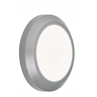 VIOKEF 4138000 | Leros-Plus Viokef fali lámpa 1x LED 225lm 3000K IP44 szürke, fehér