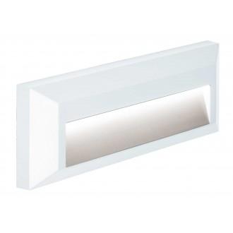 VIOKEF 4138101 | Leros-Plus Viokef fali lámpa 1x LED 112lm 3000K IP44 fehér
