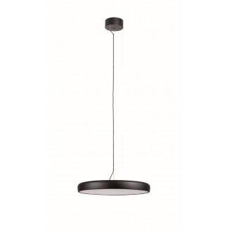 VIOKEF 4176200 | Placebo Viokef függeszték lámpa 1x LED 2500lm 3000K fekete, fehér