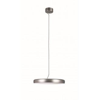 VIOKEF 4176201   Placebo Viokef függeszték lámpa 1x LED 2500lm 3000K ezüst, fehér