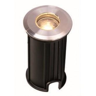 VIOKEF 4186700 | Lotus-VI Viokef beépíthető lámpa Ø42mm 1x LED 110lm 3200K IP67 ezüst, fekete