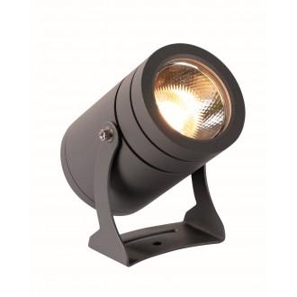 VIOKEF 4187600 | Maris-VI Viokef fényvető, leszúrható lámpa elforgatható alkatrészek 1x LED 1080lm 3000K IP65 sötétszürke