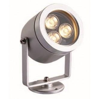 VIOKEF 4187700 | Dias Viokef fényvető, leszúrható lámpa elforgatható alkatrészek 1x LED 270lm 3200K IP65 ezüst