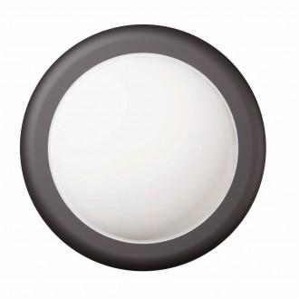 VIOKEF 4189500 | Minos Viokef fali lámpa 1x LED 400lm 3000K IP54 fekete, fehér