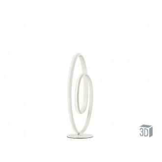 VIOKEF 4202200 | Cozi Viokef asztali lámpa 52cm 1x LED 960lm 3000K fehér