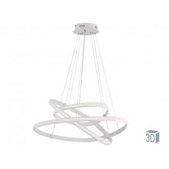 VIOKEF 4202500 | Cozi Viokef függeszték lámpa 1x LED 3600lm 3000K fehér