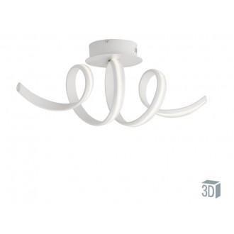 VIOKEF 4202700 | Cozi Viokef mennyezeti lámpa 1x LED 1200lm 3000K fehér