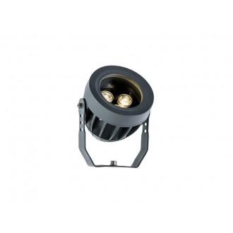 VIOKEF 4205000 | Ermis Viokef fényvető, leszúrható lámpa elforgatható alkatrészek 3x LED 330lm 3000K IP66 sötétszürke