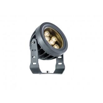 VIOKEF 4205100 | Ermis Viokef fényvető, leszúrható lámpa elforgatható alkatrészek 9x LED 990lm 3000K IP66 sötétszürke